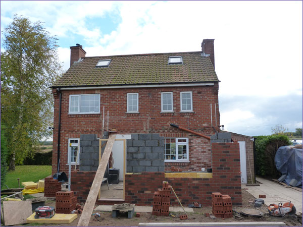 Rear Extension - Long Marston 3