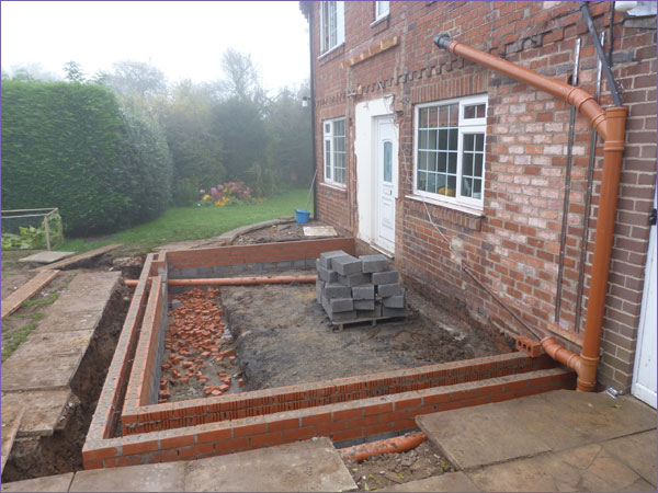Rear Extension - Long Marston 1