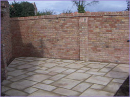 Boundary Wall and Patio